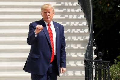 President Trump Arrives Back To The White House After Trip To New York For United Nations General Assembly