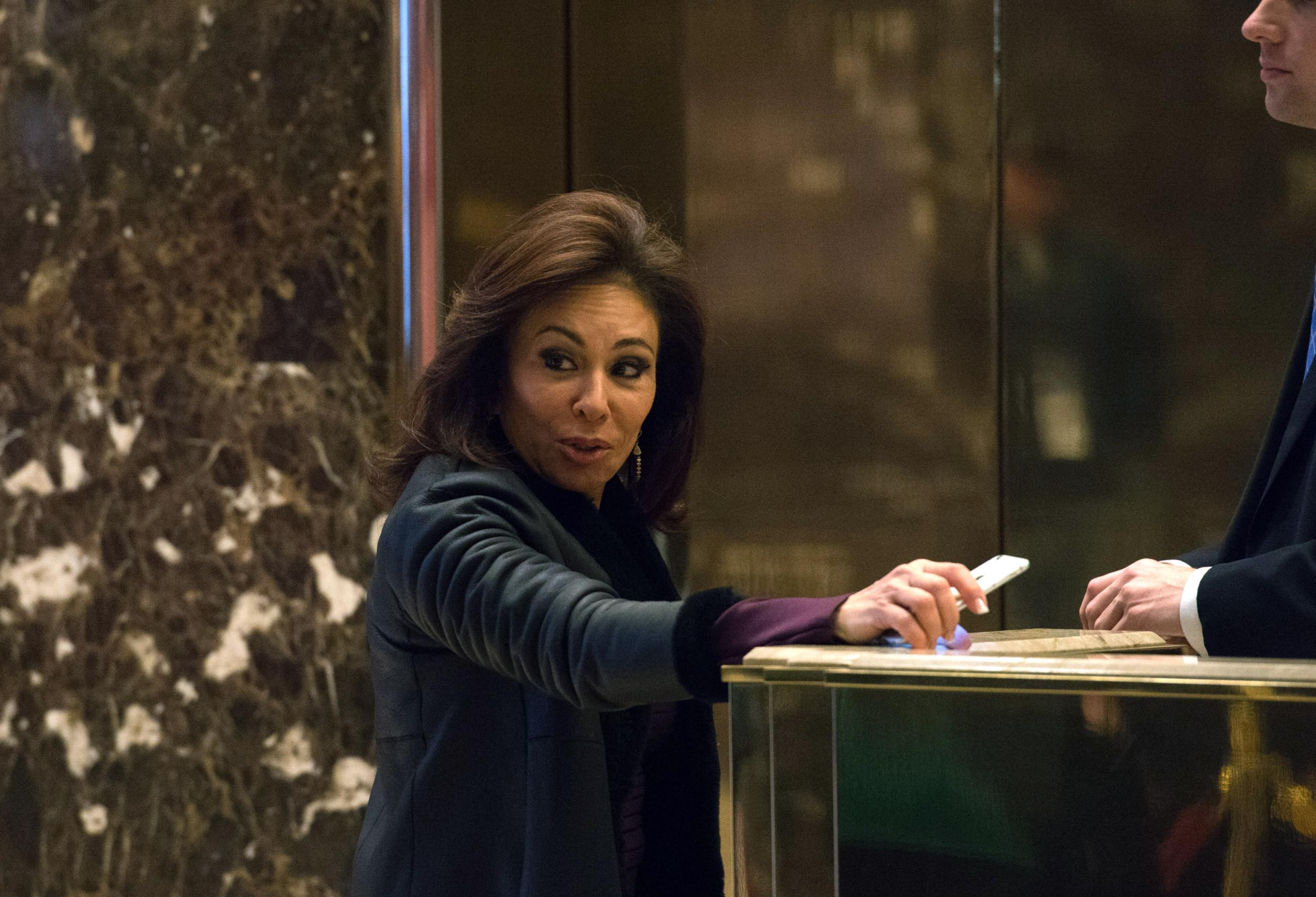 Fox News Host Jeanine Pirro At...