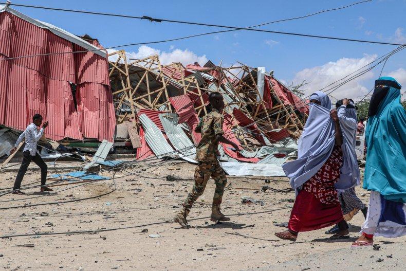 Mogadishu attack 2019