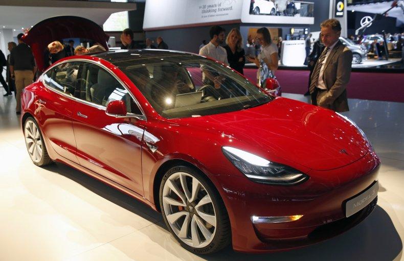 Tesla Model 3 in Paris