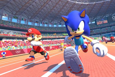 Mario and Sonic Olympics Games Tokyo 2020