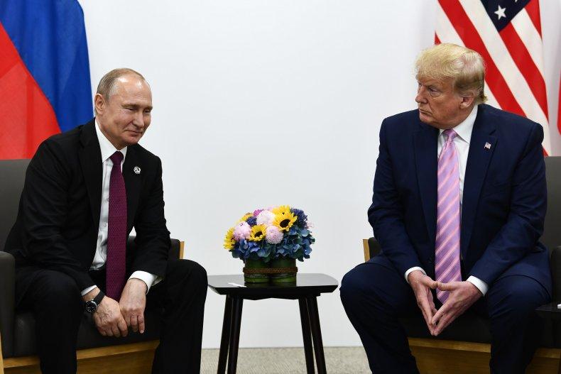 russia president vladimir putin donald trump