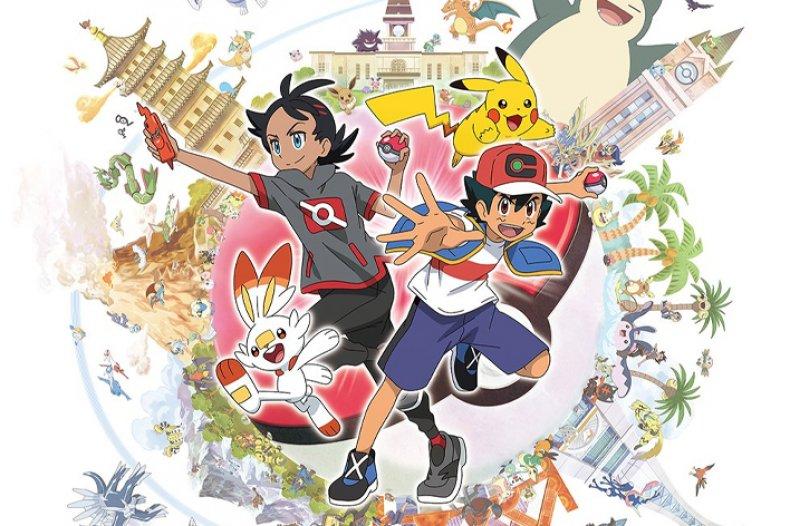 pokemon anime sword shield go ash pikachu