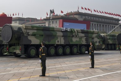 china military parade anniversary missile