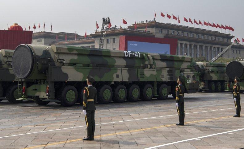 china military parade anniversary missile