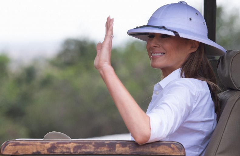 Melania Trump National Parks