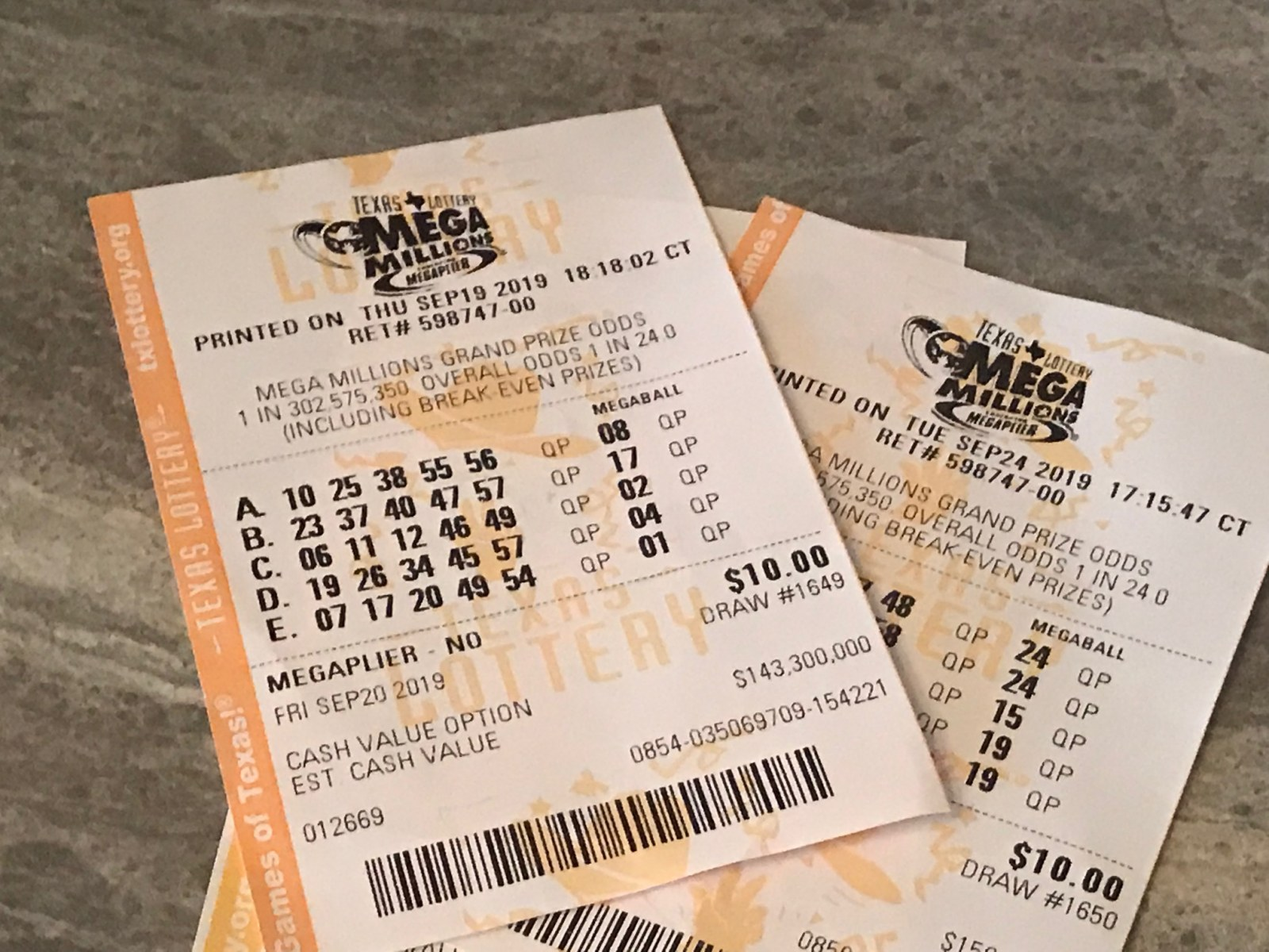 Mega Millions Drawing For 12 31 19 Tuesday Jackpot Is 55 Million