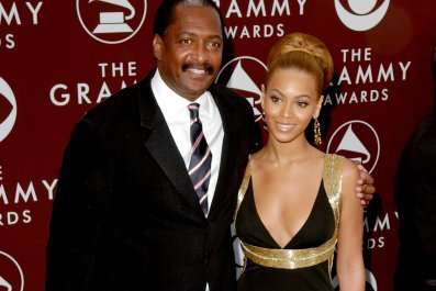 Mathew Knowles and Beyonce