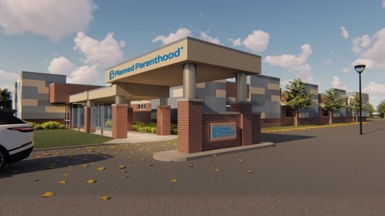 Planned Parenthood building Illinois