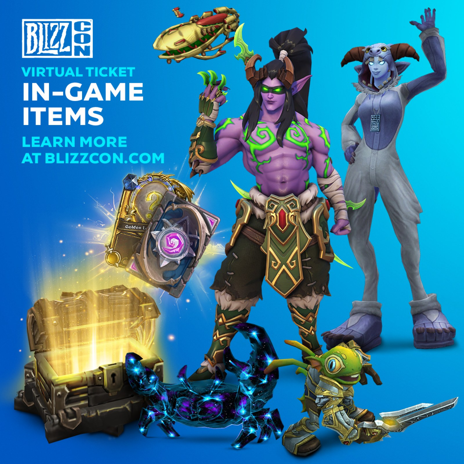 New Overwatch Skins 2020.Blizzcon 2019 Virtual Ticket Announced What Skins You Can