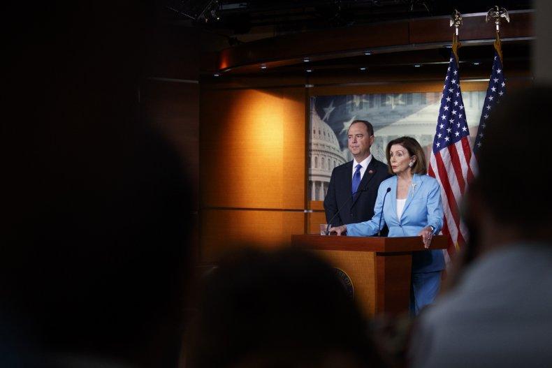 pelosi schiff warn trump stonewalling obstruction congress