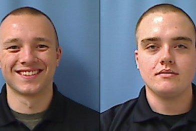 Deputy Daniel Wilkey and Deputy Jacob Goforth
