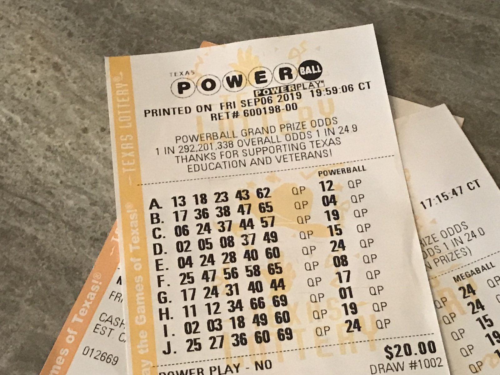 Powerball Numbers For 12/02/20, Wednesday Jackpot was $231 Million