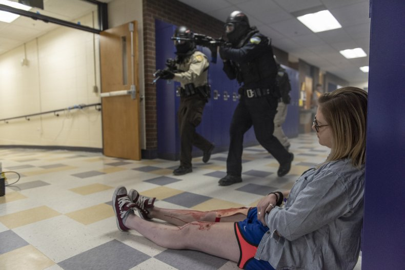 High School Holds Active Shooter Drill in Montana