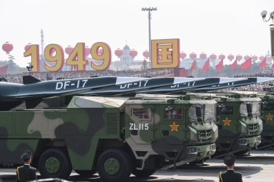 China DF-17 Missile hypersonic missile