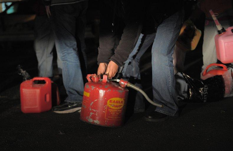 gas can, fire, murder, australia