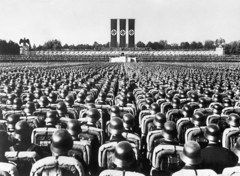 nazi party, germany, Nuremberg, adolf hilter, getty