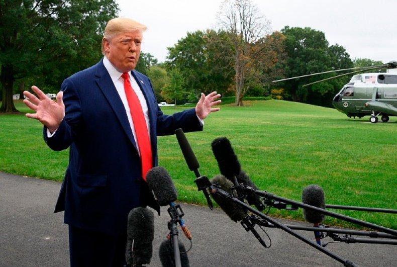 donald trump urges china investigate biden