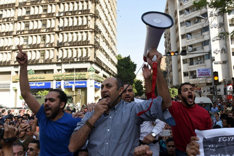 Egyptian activist and lawyer Khaled Ali