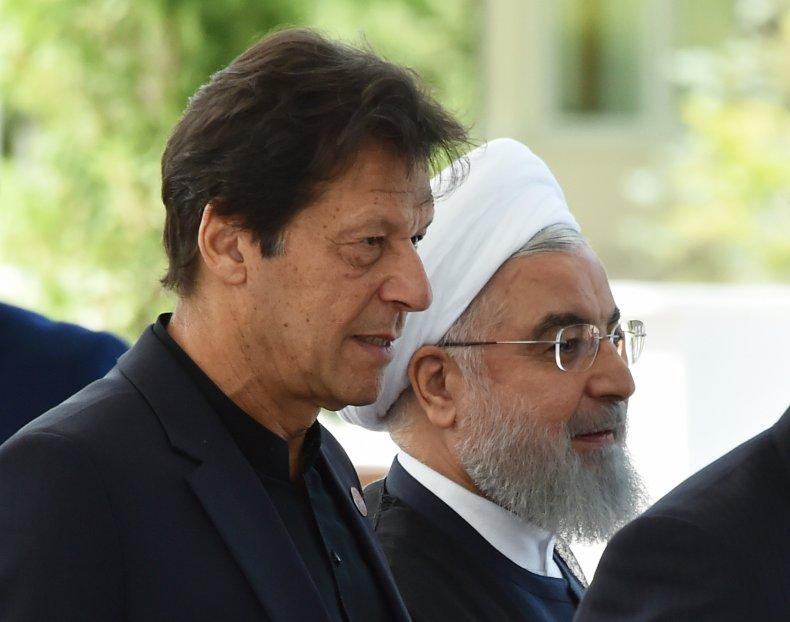 pakistan khan iran rouhani diplomacy