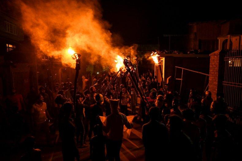 india kashmir protests unrest conflict pakistan