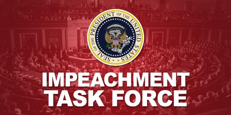 Trump Impeachment Task Force Logo