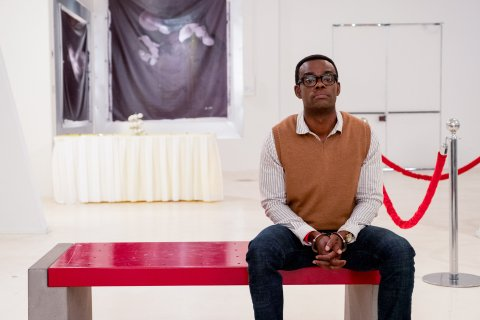 What 'The Good Place' Taught William Jackson Harper