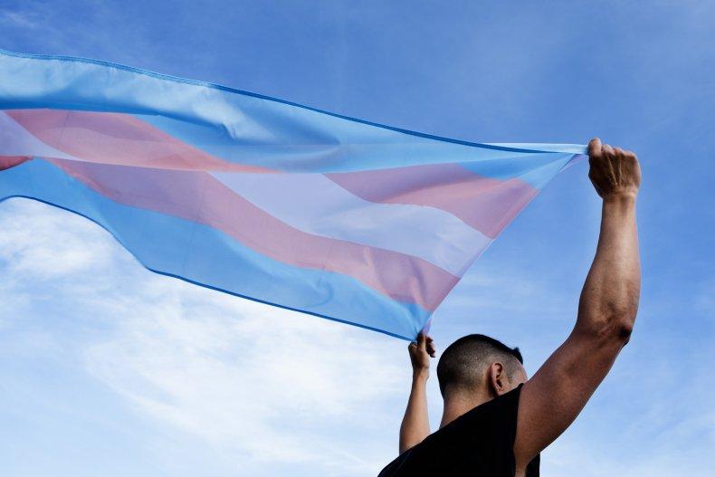 trans, transgender, LGBT, flag, stock, getty,