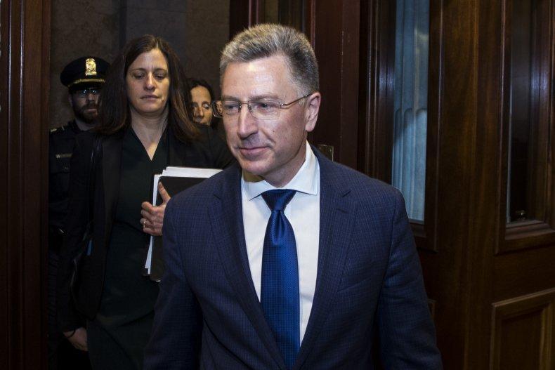 State Department Ukraine text messages Volker Sondland