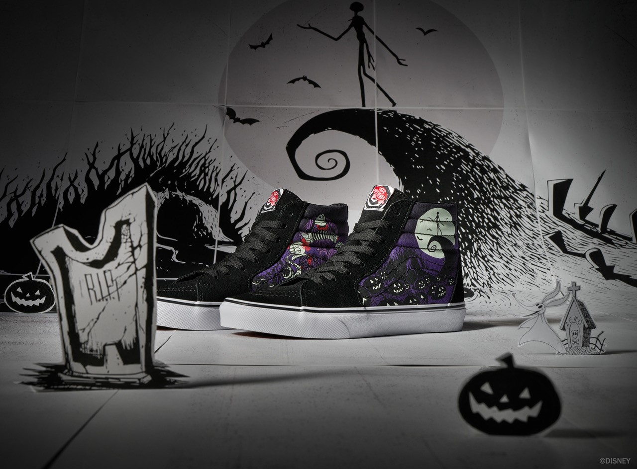 Vans 'Nightmare Before Christmas' Collection Price, Release