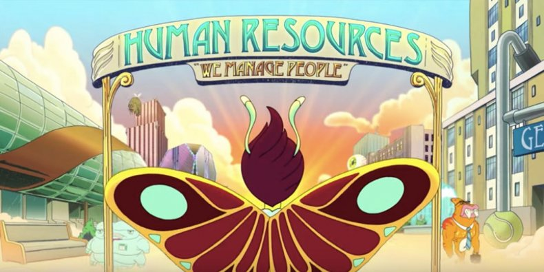 big mouth human resources