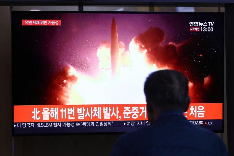North Korea, missile, launch, test, submarine