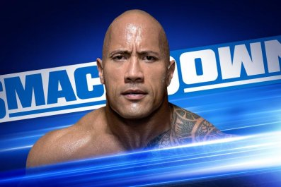 The Rock returns to SmackDown