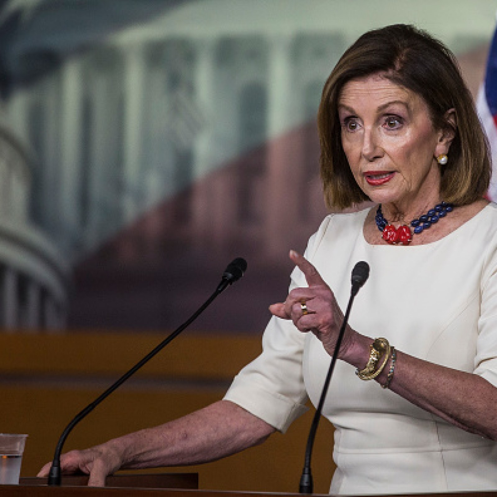 Nancy Pelosi Accuses Donald Trump Of Trying To Make