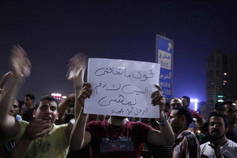 egypt cairo protests sissi revolution
