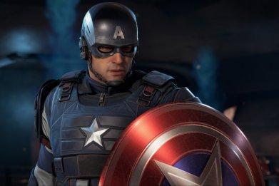 captain america marvel's avengers