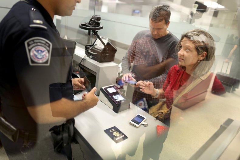 CBP Officer Passport Control