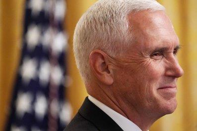 Mike Pence, Donald Trump, impeachment, Stephen Colbert