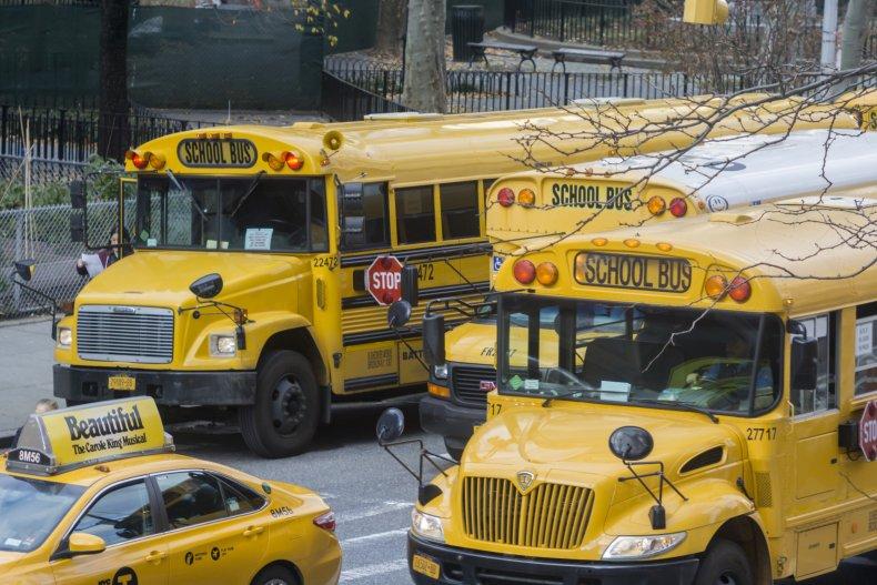 School bus, accident, run over, North Carolina