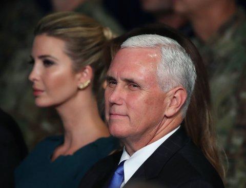 Mike Pence Ivanka Trump