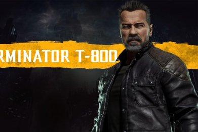 terminator t 800 mortal kombat 11 release