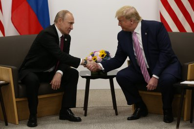 Donald Trump, Vladimir Putin, impeachment, Russia