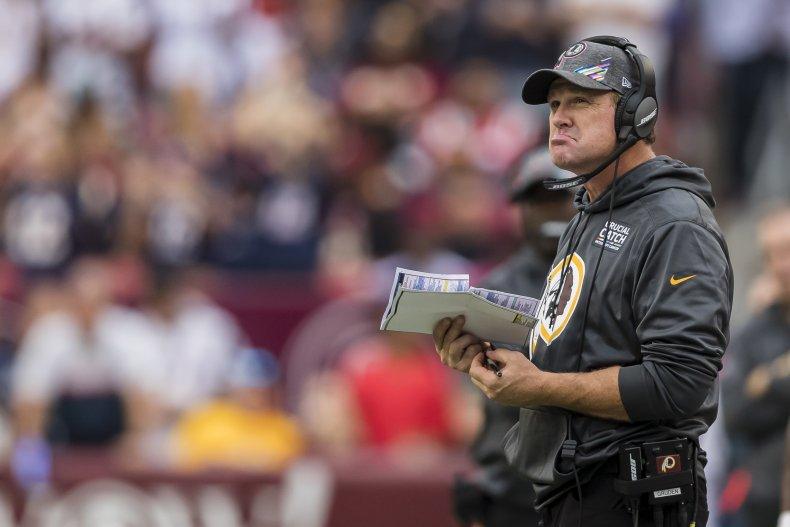 Jay Gruden, Washington Redskins