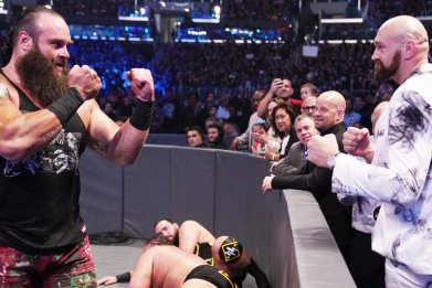 Tyson Fury on WWE Friday Night SmackDown