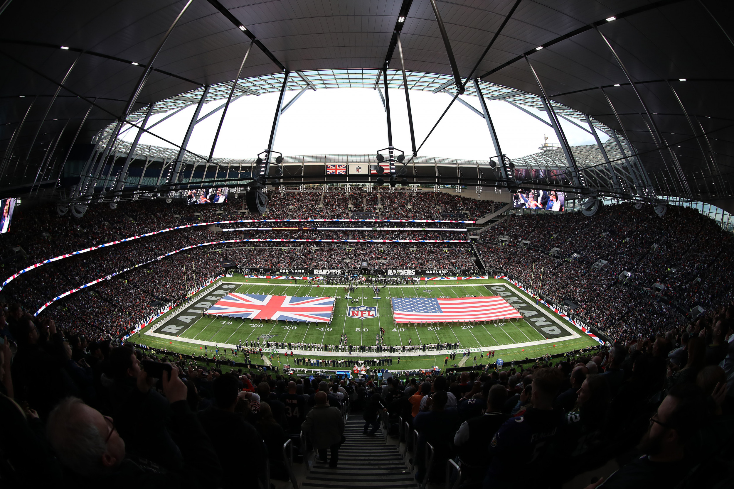 Nfl London 2019 Which Teams Play In Britain This Season