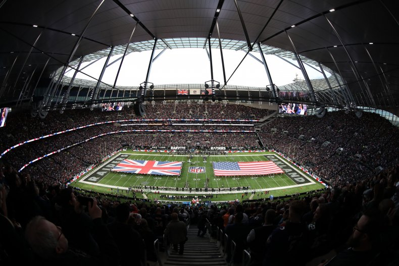 Tottenham Hotspur Stadium, NFL London