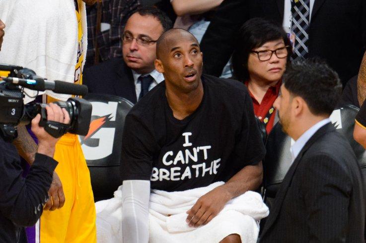 Kobe Bryant I Cant Breathe