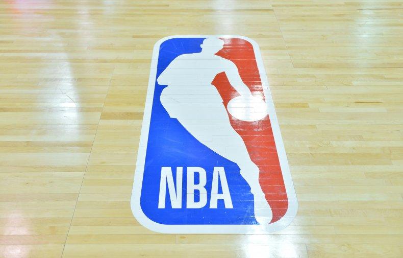 The National Basketball Association logo