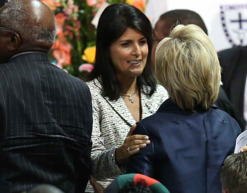 Nikki Haley Hillary Clinton
