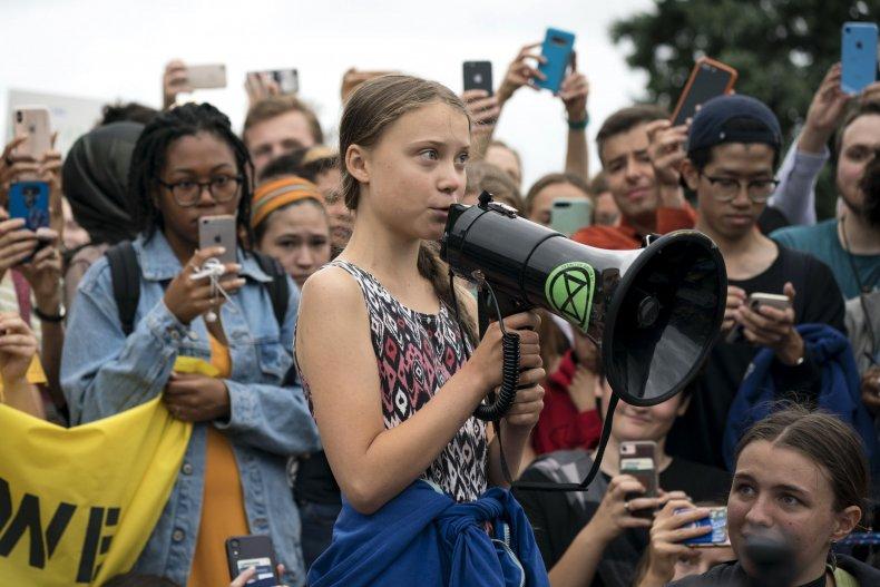 Greta Thunberg Effigy Rome